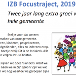 Focustraject IZB