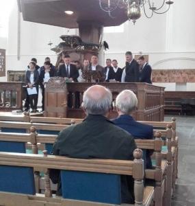 Zondag 24 september: Kerkdienst, sing-in, avonddienst met daarna ontmoeting kerkenraad