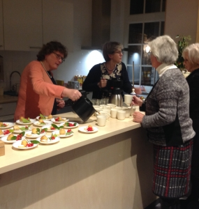 Kerstviering 'Bidt en Werkt'